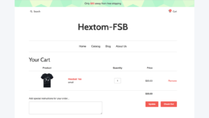 Shopify Home Page Design