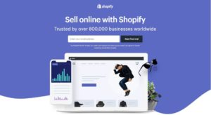 Move from in-store to online selling