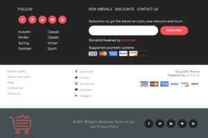 Add or customize banners, headers, and footers