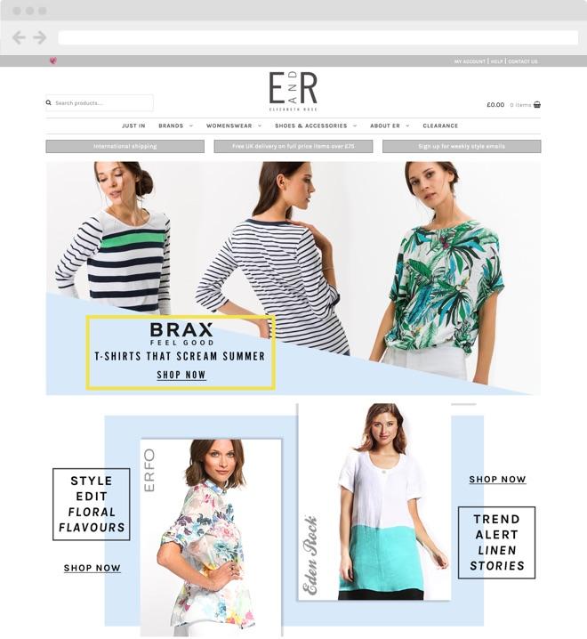 We build beautiful Shopify e-commerce  Fashion websites